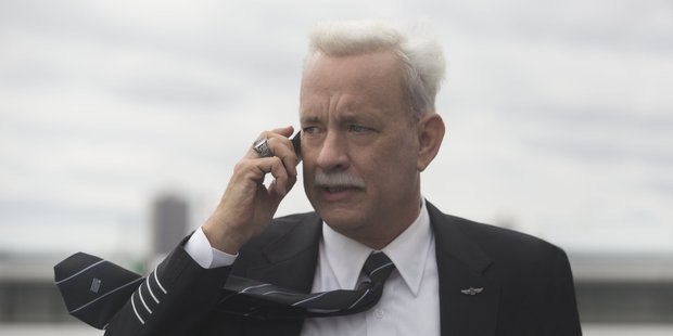 Tom Hanks stars in the movie, Sully.