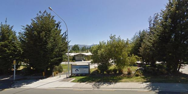Mount Aspiring College in Wanaka will try to continue with business as usual, as one of its Year 13 pupils is Dunedin Hospital with meningococcal disease. Photo / Google