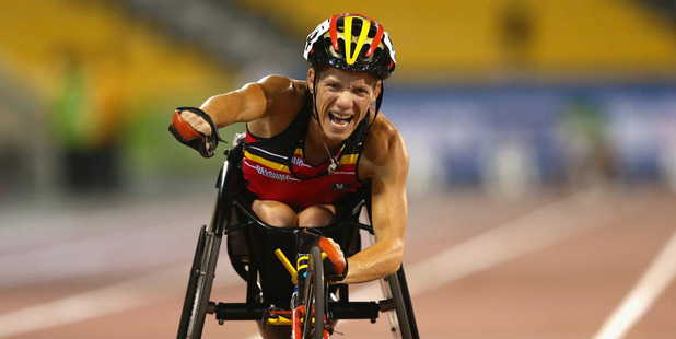 Marieke Vervoort of Belgium. Photo / Getty