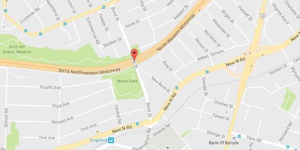 The body was found near the Bond Street bridge. Google Maps.