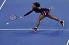More records await Serena Williams if she can win her next two matches at the US Open. Picture / AP