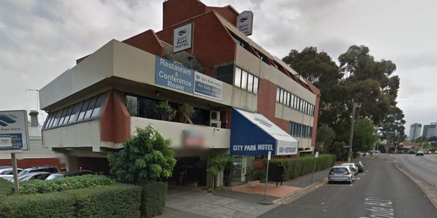 The City Park hotel in South Melbourne where Elsa Corp was murdered. Photo / Google