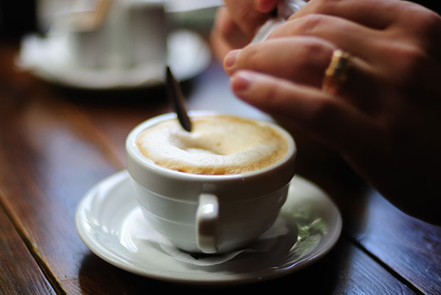 Most coffee should be drunk at least two hours after you wake. Photo / Getty Images
