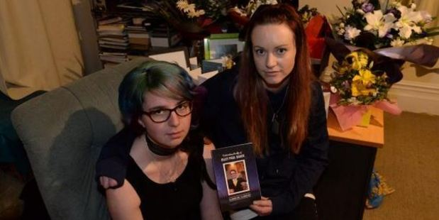 Riley Baker's girlfriend Amy McCarthy (left) and sister Sarah Baker said police have warned them the driver may never serve prison time. Photo / Linda Robertson