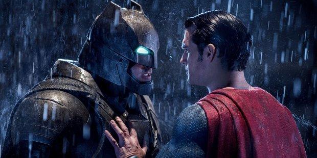 A scene from the film Batman v Superman.