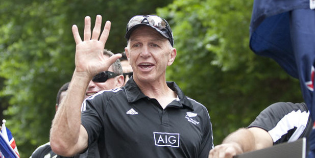 New Zealand Sevens coach Gordon Tietjens. Photo / Mark Mitchell
