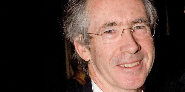 Author Ian McEwan. Photo / NZ Herald