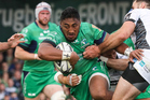 Former Chiefs and Counties Manakau centre Bundee Aki now competing in the Guinness PRO12. Photo / Photosport