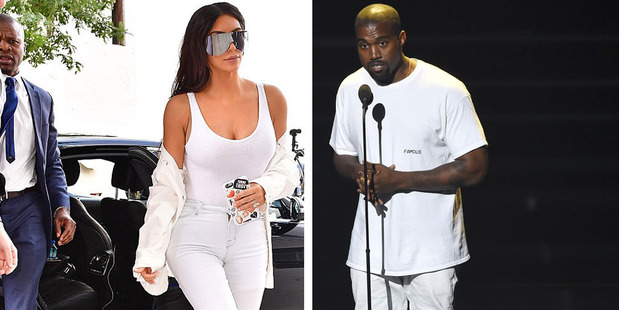 No doubt the rule doesn't apply to Kim or Kanye West. Photos / Getty Images