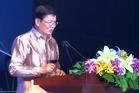 Laos Prime Minister Thongloun Sisoulith.