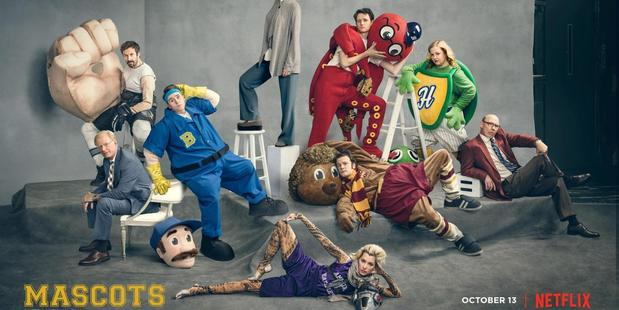 Mascots: Exclusive first look at Netflix's new comedy. Photo / Netflix