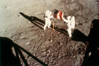 astronauts Neil Armstrong and Edwin Buzz Aldrin set foot on the moon. Photo / Getty Images
