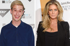 Tyler Henry is too young to know who Rachel Hunter is. Photos /  AP, Norrie Montgomery