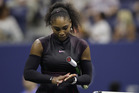 Serena Williams was defeated in the semifinals for the second straight year at the US Open. Photo / AP