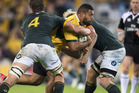 The Wallabies and South Africa clash in Brisbane on Saturday. Photo /Getty