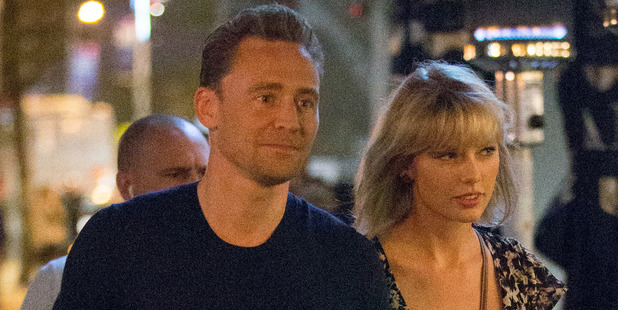 Tom Hiddleston insisted that his relationship with Taylor Swift isn't a 'showmance'. Photo / Splash