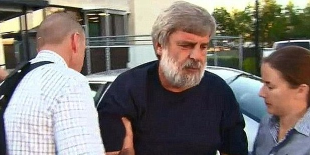 Thomas Chris Lang has been charged with the murder of his former partner. Photo / Nine Network