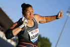 Valerie Adams won her fifth Diamond League season title. Photo / AP