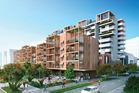 Herald Homes Wynyard development. Render / supplied
