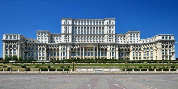 The palace that houses Romania's Parliament is the second-largest administrative building in the world, after the Pentagon. Photo / 123RF