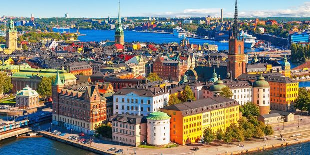 The cheapest flight, somewhat surprisingly, is from New York to Stockholm. Photo / 123RF