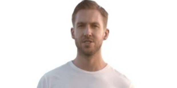 Scottish musician/producer Calvin Harris in a still from his music video 'Summer'