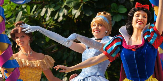 Disney Princesses are traditionally around 162cm to 173cm. Photo / Getty Images