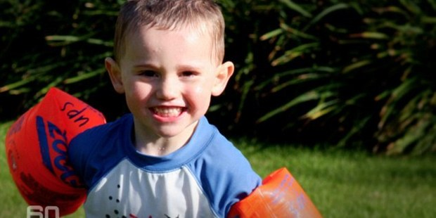 Loading William Tyrrell disappeared from his grandmother's yard two years ago. Photo / 60 Minutes Australia
