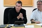 BUSY: Councillor Mark Hamilton