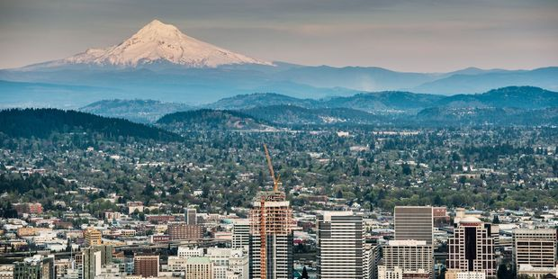 Enjoy a stopover in Portland, Oregon, before heading back to New York City. Photo . 123RF