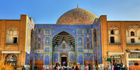 Important historical sites, like the Sheikh Lotfollah Mosque in Isfahan, are drawing tourists to Iran. Photo / 123RF