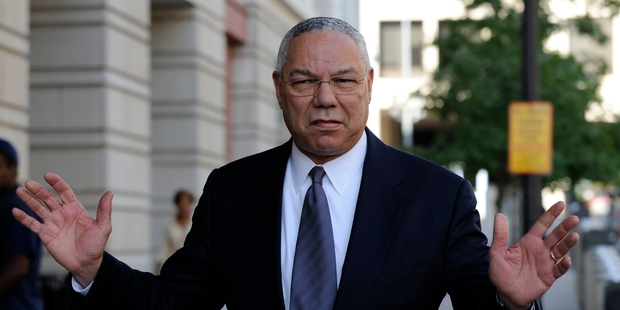 More than two years' worth of Colin Powell's emails have been made public. Picture / AP