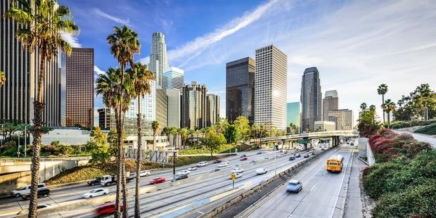 Downtown LA. Photo / 123RF