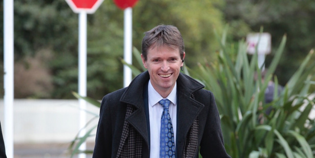 Colin Craig arrives at the Auckland High Court for his defamation trial brought by Jordan Williams. 13 September 2016 New Zealand Herald Photograph by Brett Phibbs NZH 14Sep16 -