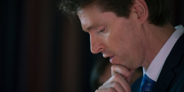 Loading Former Conservative Party leader Colin Craig. New Zealand Herald Photograph by Nick Reed