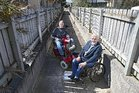 Disabled Tauranga residents Tom Bradley (left) and Paul Curry. Photo/John Borren