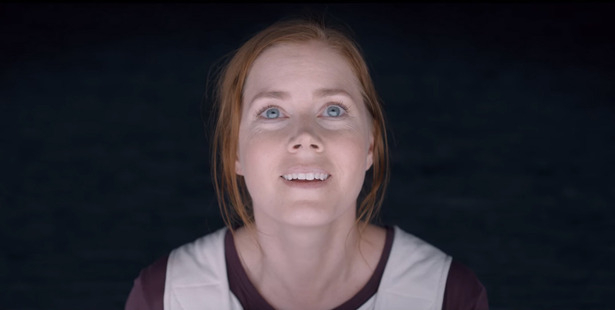 Actress Amy Adams stars in the upcoming sci-fi film, Arrival.
