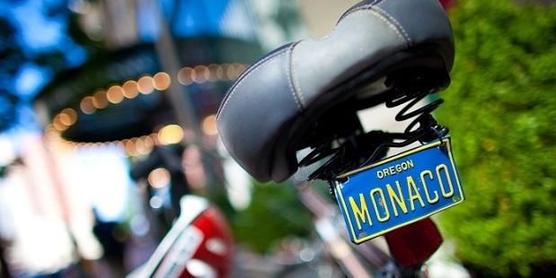 Bikes at Hotel Monaco Portland. Photo / Kimpton Hotels