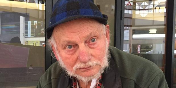Sam Bracanov, 80, was convicted of slinging manure at a judge. Photo / Amelia Wade