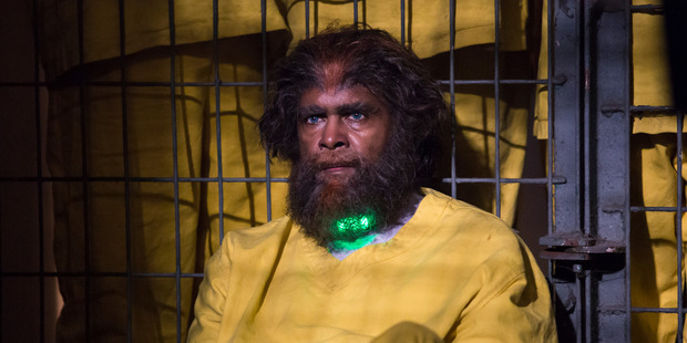 A scene from season one of Cleverman.