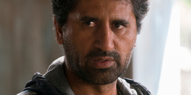 Cliff Curtis in Fear the Walking Dead. The AMC show is suffering a ratings slump that doesn't seem to be coming right.