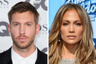 Music stars Calvin Harris and Jennifer Lopez could be dating. Photo / Getty Images, AP