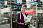 Auckland electoral officer Dale Ofoske oversees the mailout of more than a million voting documents. Photo / supplied