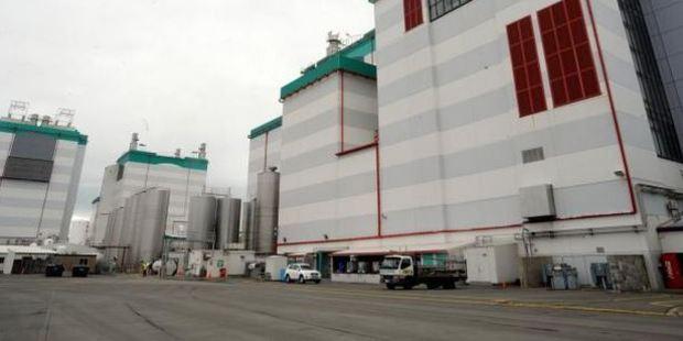 File photo of the Fonterra plant.