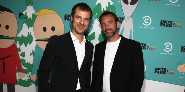 South Park writers/creators Matt Stone and Trey Parker. Photo / Getty Images