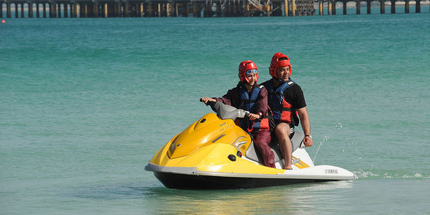 A number of watersports are on offer on the island resort of Kish. Photo / Getty Images