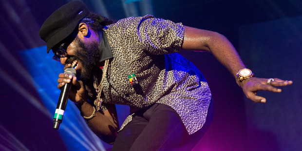 Tarrus Riley performs during Reggae Sumfest in Jamaica and will be coming to One Love music festival next year in New Zealand. Photo / Getty