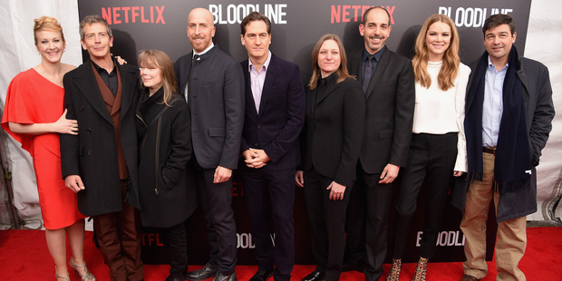 Cast attends the Bloodline New York Series premiere at SVA Theater on March 3, 2015 in New York City. Photo / Getty