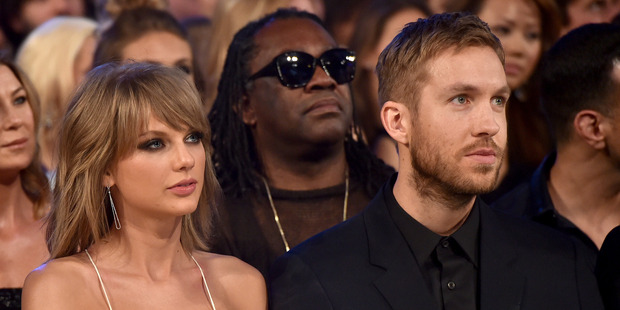 Musicians Taylor Swift and Calvin Harris broke up earlier this year. Photo / Getty Images