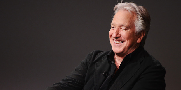 Actor/filmmaker Alan Rickman died in January, 2016. Photo / Getty